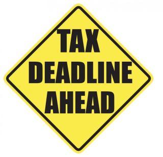 Tax Deadline Ahead