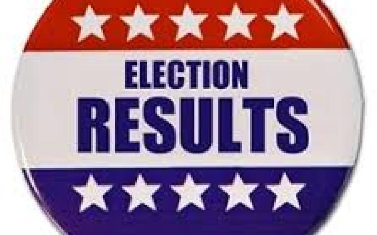 Annual Town Election results