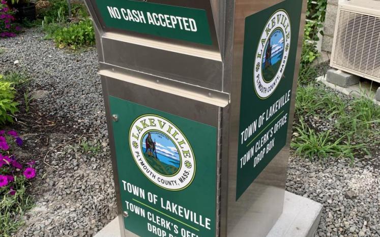 Town Clerk's Office Drop Box